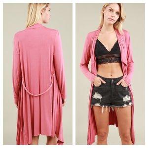 POL Intimates & Sleepwear - POL Brand Waist Tie Robe Cardigan